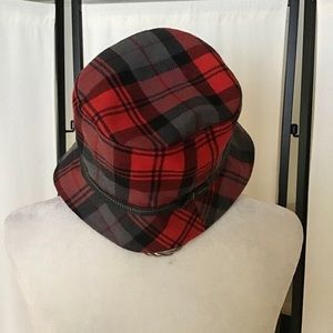 Coach Plaid Hat